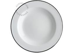 - Enamelled metal deep plate ENAMEL PLATE | Deep plate - ZANGRA