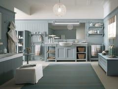 - Solid wood bathroom furniture set ENGLISH MOOD | Bathroom furniture set - Minacciolo