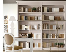 - Sectional solid wood bookcase ENGLISH MOOD | Bookcase - Minacciolo
