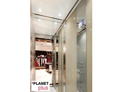 - Machine Room-Less gearless custom lift EPLANET PLUS - GRUPPO MILLEPIANI