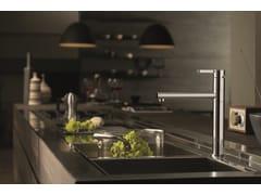 - Kitchen mixer tap with swivel spout ERGO KITCHEN | 1 hole kitchen mixer tap - NEWFORM