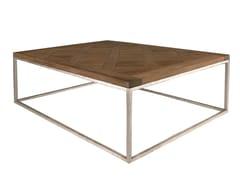 Tavolino da caffè quadrato in rovereESPRIT - LAVAL