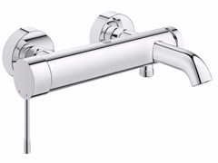 - Wall-mounted single handle bathtub mixer with temperature limiter ESSENCE NEW | Bathtub mixer - Grohe