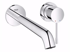 - 2 hole wall-mounted single handle washbasin mixer ESSENCE NEW | Wall-mounted washbasin mixer - Grohe