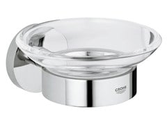 - Wall-mounted soap dish ESSENTIALS | Soap dish - Grohe