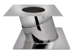 Modulo attraversamento tettoETERINOX | Collare e supporto per canalizzazione - FIBROTUBI