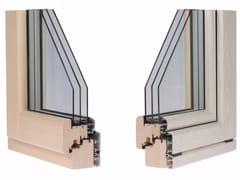 Finestra in alluminio e legno con triplo vetroETERNITY PLUS - ALPILEGNO