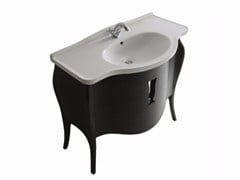 - MDF vanity unit with drawers ETHOS 110 | Vanity unit - GALASSIA