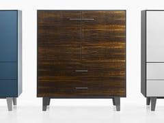 - Eucalyptus highboard with drawers EUCALIPTO | Wooden highboard - B&B Italia