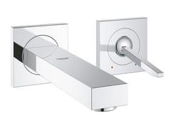 - Miscelatore per lavabo a 2 fori monocomando con limitatore di portata EUROCUBE JOY SIZE S | Miscelatore per lavabo a muro - Grohe