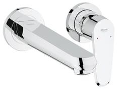- 2 hole wall-mounted single handle washbasin mixer EURODISC COSMOPOLITAN SIZE L | Washbasin mixer - Grohe