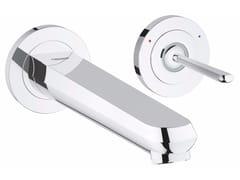 - 2 hole single handle washbasin mixer EURODISC JOY SIZE M | Wall-mounted washbasin mixer - Grohe