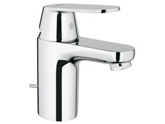 - Countertop single handle washbasin mixer EUROSMART COSMOPOLITAN SIZE S | Washbasin mixer with pop up waste - Grohe