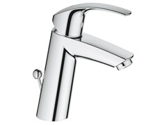 - Countertop single handle washbasin mixer with temperature limiter EUROSMART SIZE M | Washbasin mixer with pop up waste - Grohe