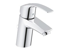 - Countertop single handle washbasin mixer with temperature limiter EUROSMART SIZE S | Washbasin mixer with pop up waste - Grohe