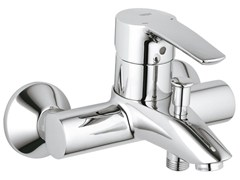 - Wall-mounted single handle bathtub/shower mixer EUROSTYLE | 2 hole bathtub mixer - Grohe