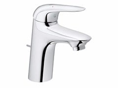 - Countertop single handle washbasin mixer EUROSTYLE NEW SIZE S | Washbasin mixer with pop up waste - Grohe