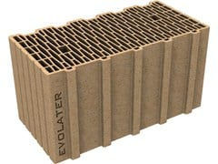 - External masonry clay block EVOLATER NZEB 50x25x25 - Fornaci DCB