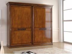 - Wooden wardrobe with sliding doors EXCLUSIVE | Wardrobe with sliding doors - Arvestyle