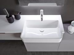 - Mineralmarmo® washbasin countertop EXIO - INBANI