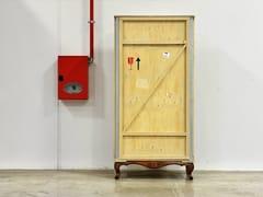 Armadio in legno su ruote collezione export com by for Malerba mobili