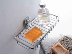 - Wall-mounted metal soap dish EXPORT | Wall-mounted soap dish - INDA®