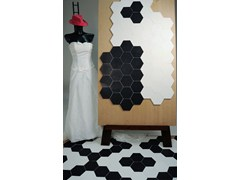 - Glazed stoneware wall tiles / flooring EXTRÒ - Self Style