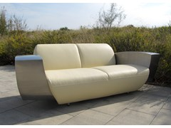 - 3 seater leather sofa EASY ONE XL - ICI ET LÀ