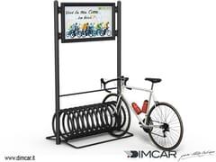 - Metal Bicycle rack ELIX DISPLAY - DIMCAR