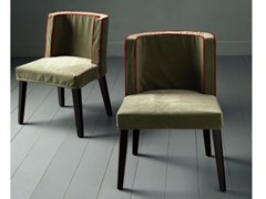 - Upholstered chair with removable cover FAMILY CHAIR MIDDLE - Casamilano