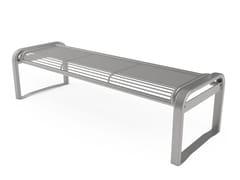 Panchina in acciaio senza schienaleFANTASY   Panchina senza schienale - CITY DESIGN