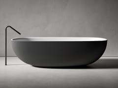 Vasca da bagno in Cristalplant®FAROE | Vasca da bagno - BOFFI