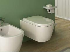 - Wall-hung ceramic toilet FASTER | Wall-hung toilet - Hidra Ceramica