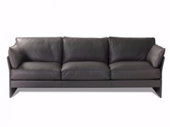 - 4 seater leather sofa FAUBOURG | 4 seater sofa - Canapés Duvivier