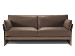 - 3 seater leather sofa FAUBOURG | 3 seater sofa - Canapés Duvivier