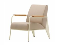 - Upholstered armchair with armrests FAUTEUIL DE SALON - Vitra