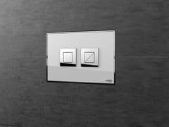 Placca di comando per wc a filo pareteFEEL - VALSIR