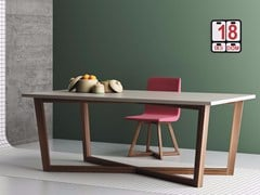 - Rectangular solid wood contract table FENG SHUI | Rectangular table - Imperial Line