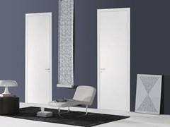 - Hinged flush-fitting door FILO A FILO - LACQUERED - PORTEK by LEGNOFORM