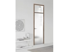 - Hinged flush-fitting door FILO A FILO - SATIN GLASS - PORTEK by LEGNOFORM