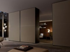 - Etched glass wardrobe with coplanar doors FIRST | Wardrobe with coplanar doors - MisuraEmme