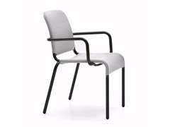 - Stackable chair with armrests FIT | Chair with armrests - Varaschin
