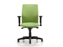 - Task chair with 5-Spoke base with casters FIT | Task chair with casters - D.M.