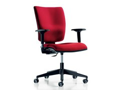 - Task chair with 5-Spoke base with armrests FIVE | Task chair with casters - D.M.