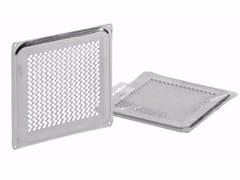 Griglia di ventilazione quadrata in acciaio inoxGRIGLIA FISSA PERFORATA - DAKOTA GROUP
