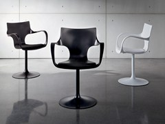 - Swivel polypropylene chair FLÛTE GIREVOLE - SOVET ITALIA