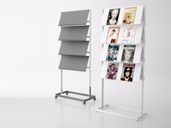 - Steel display unit for brochures FLAP | Display unit - Systemtronic