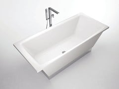 - Rectangular bathtub FLAT | Bathtub - Hidra Ceramica