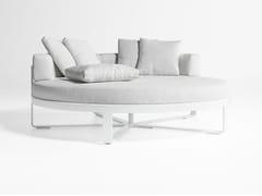 - Round thermo lacquered aluminium garden bed FLAT | Round garden bed - GANDIA BLASCO