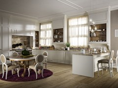 - Lacquered wooden kitchen FLORAL | Lacquered kitchen - L'Ottocento